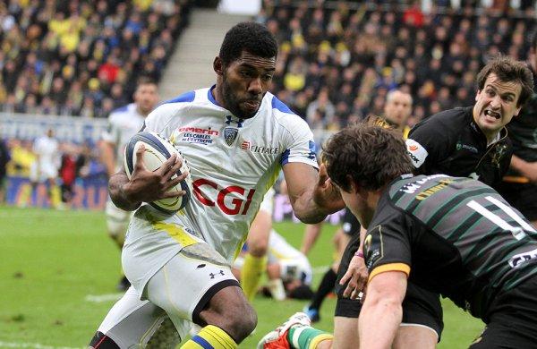 Clermont corrige Northampton (37-5) et se qualifie en demi-finale