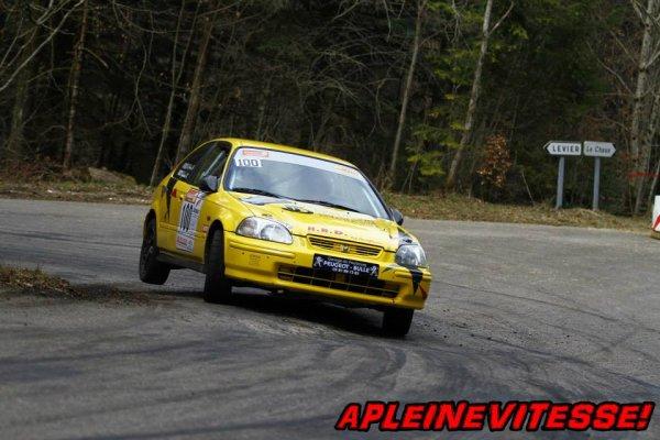Résultats Rallye de la Rivière Drugeon