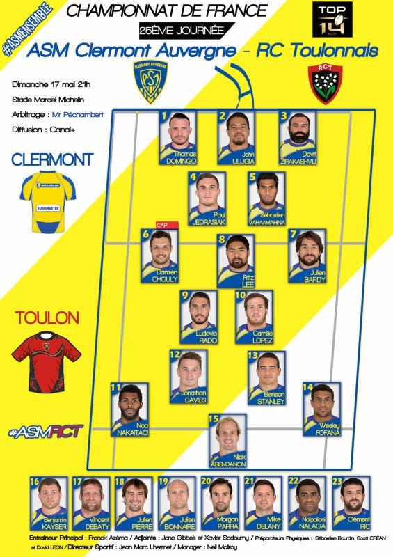 ASM - Toulon 17 mai 2015