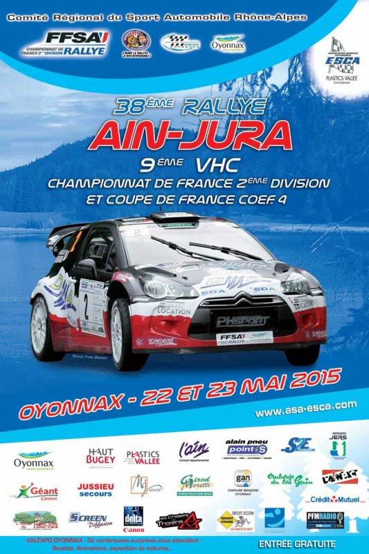 22 et 23 Mai 2015 – Ain-Jura (National – Championnat de France 2e division)
