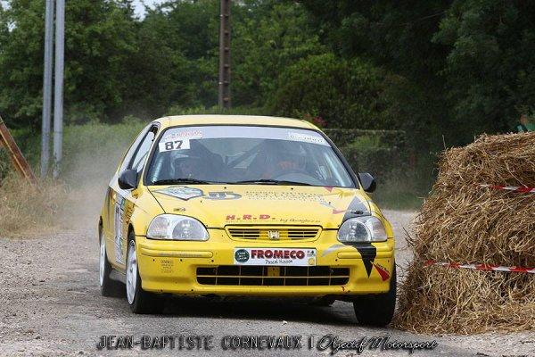 Résumé Sylvain et Cédric au rallye du Val d'Orain