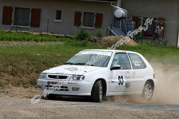 Résumé Benoit et Anthony au rallye du Val d'Orain