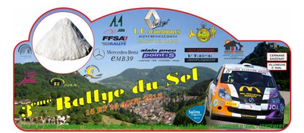 Liste des engagés du rallye du Sel 2015