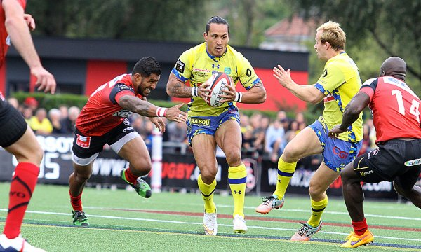 Oyonnax - ASM 24 à 41 CLERMONT INSATIABLE IMPOSE UN TRAIN D'ENFER !