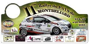 Liste des engagés du rallye du Pays de Montbéliard 26/09/2015