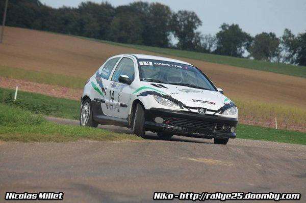résultats du rallye du Pays de Montbéliard