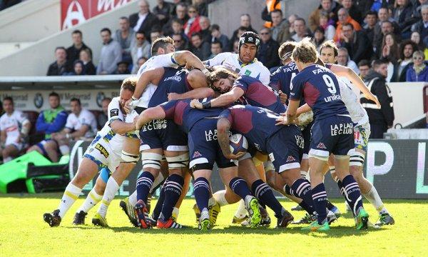 Clermont l'emporte à Bordeaux (19-24)