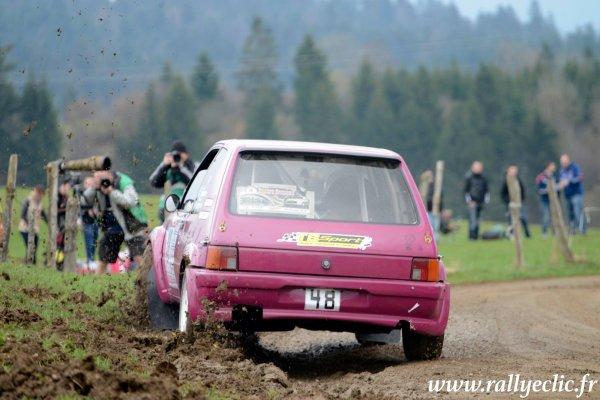 Résultats du rallye de la Rivière Drugeon 2016