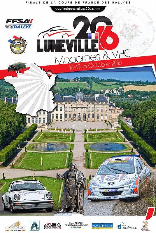 Engagés Finale Coupe de France des Rallyes 2016
