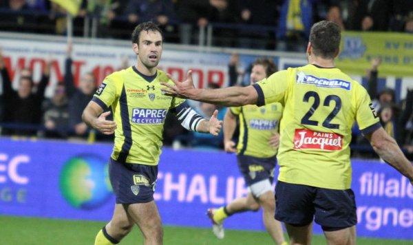 Morgan Parra sauve l'ASM après la sirène Clermont 16 - Lyon 13