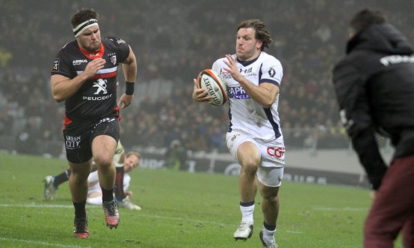 Toulouse s'impose face à Clermont (26-20)
