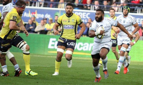Montpellier s'impose avec le bonus offensif à Clermont (19-28) en clôture de la 20e journée