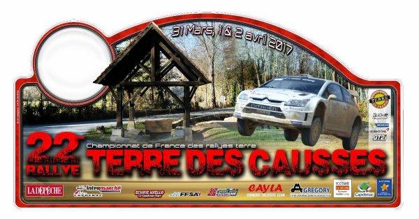 22éme Rallye des Causses  Liste des engagés au 22 mars 2017