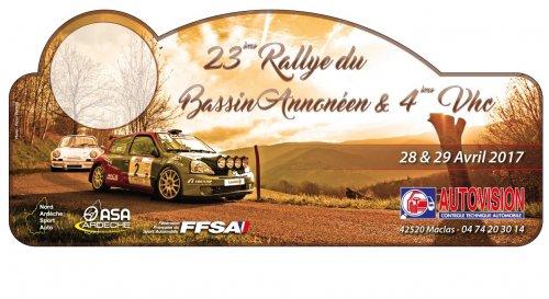 Rallye du Bassin Annonéen 2017