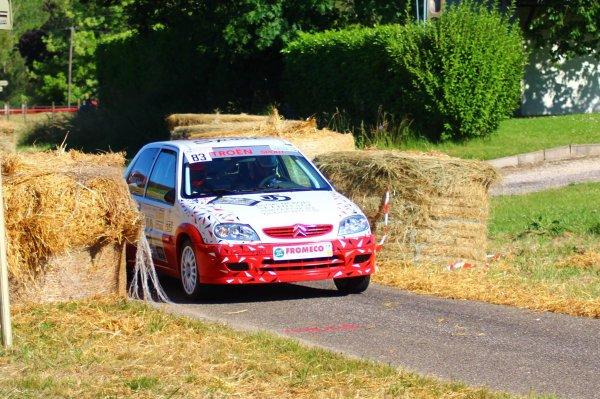 photos des vainqueurs de classe A6 Sylvain et Cédric