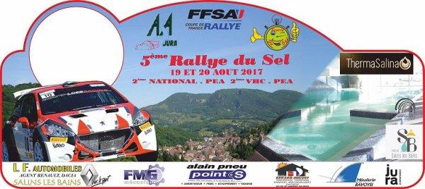 Liste des 70 engagés Rallye du Sel 2017l 19-20 août 2017