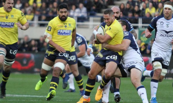 Montpellier enterre Clermont 29 à 30