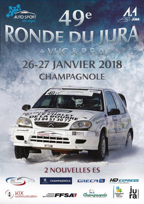 Ronde du Jura 2018 26 et 27 janvier