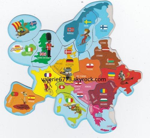 Carte Europe Savane.Brossard Savane Carte Europe Echange De Magnets