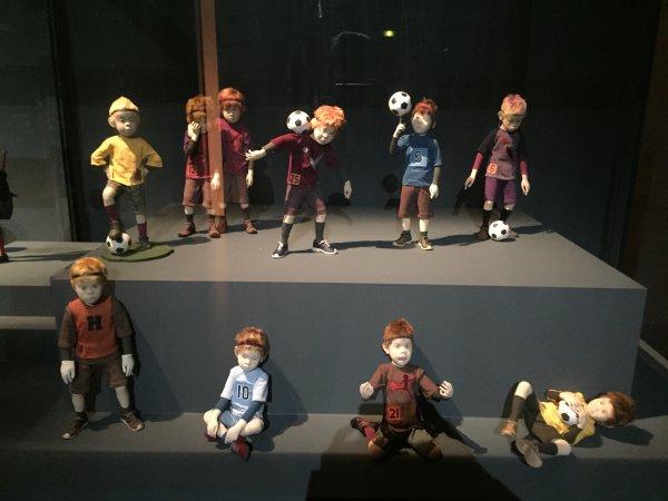 exposition sculptures de tissu -Atae Yuki -maison de la culture du Japon