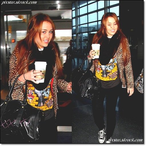PS   Miley Se promene dans New-york   PS[ /c]
