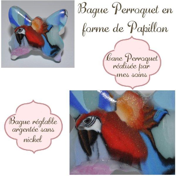 Bague Perroquet
