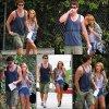 Elle ne lâche plus son Liam Hemsworth. C'est beau l'amour.