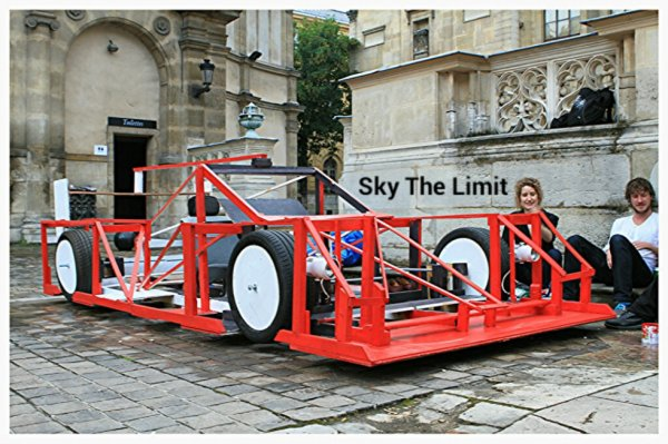 Sky The Limit dit : Projet Jeanson à l'école des beaux arts Paris 1 sur 2