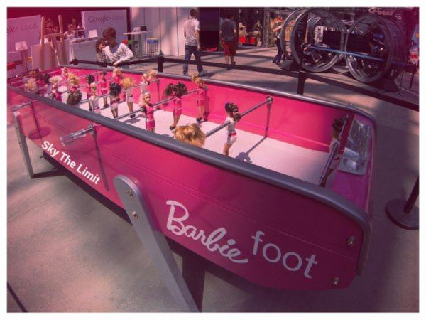 Barbie Foot au Grand Palais