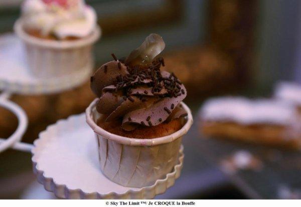 Cup cake coca