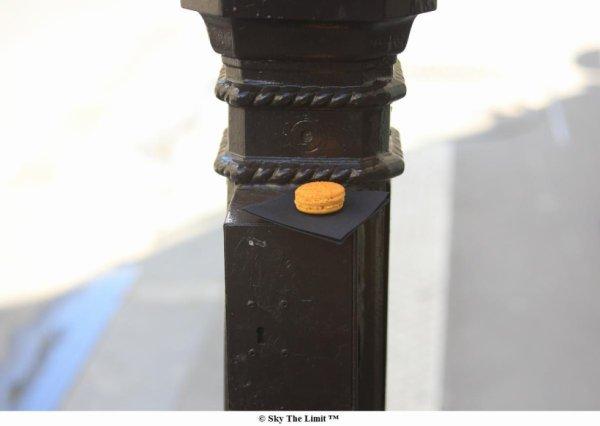 Maccaron fruit de la passion @Chocolat Chocolat Michel Cluizel - 201 rue St Honoré Paris