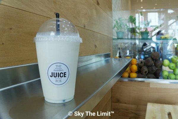 The amazing juice box #theamazingjuicebox #juice #homemade #milkshake #pompidou #food #eat #bouffe