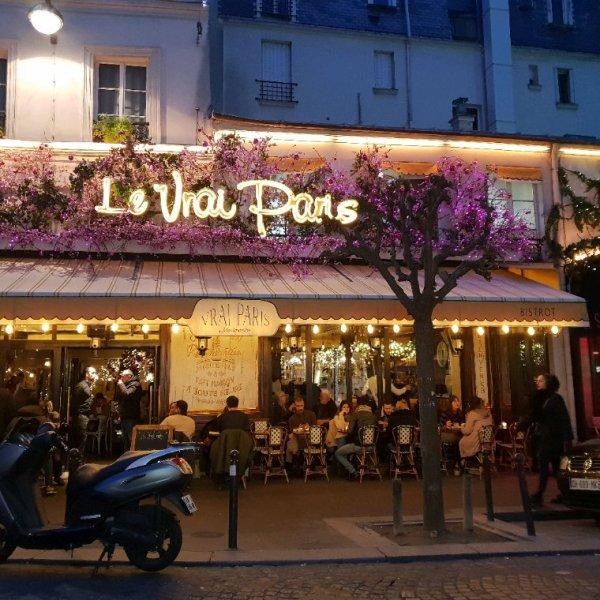 Restaurant le vrai Paris