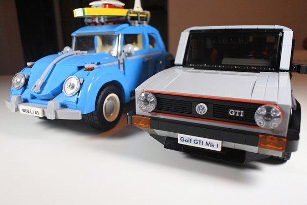 Lié passion VW et passion d'enfance; merci Légo.