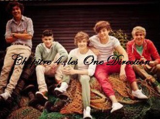 Chapitre 4 : One Direction