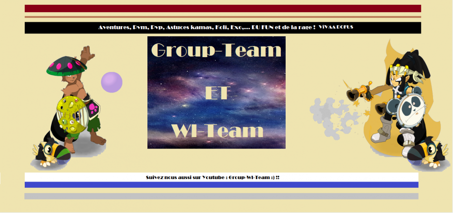 Blog de la  Group-Wl-Team
