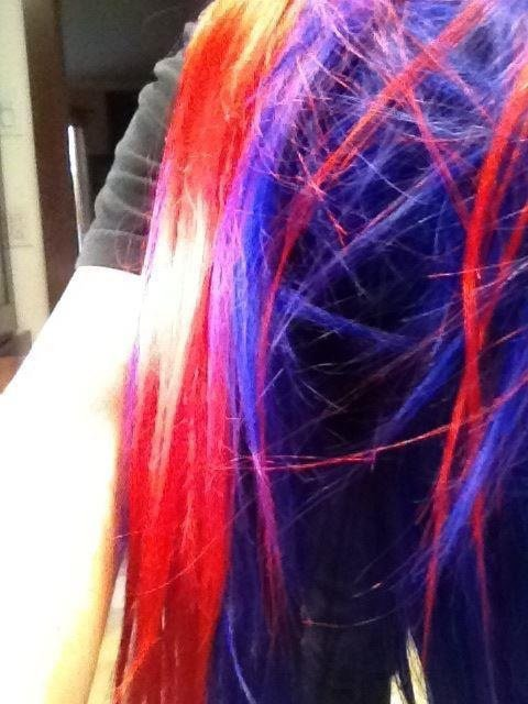 Purple and red :D