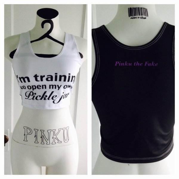 Pinku The Fake nouveau Top