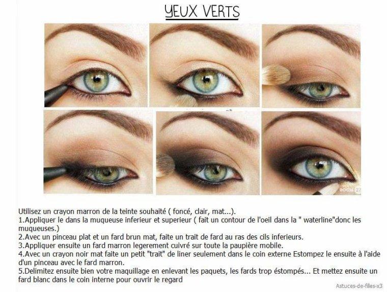 Maquiller ses yeux selon leurs couleurs !
