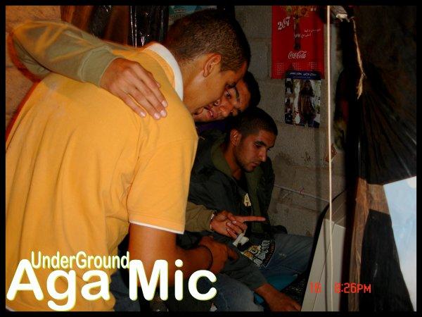 Aga Mic In The Studio (Slah Prod)