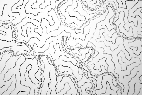 Labyrinthe au feutre permanent [Décembre 2011]