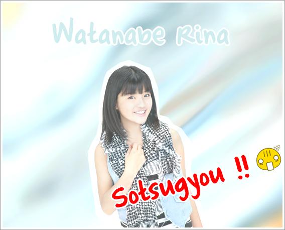 Graduation de Watanabe Rina