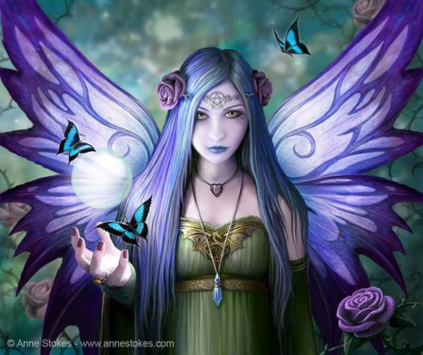 Illus' d'Anne Stokes