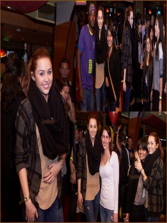 . .» Miley Cyrus ce 9 mars .  Plutôt TOP ou FLOP ?  ..