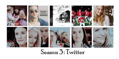 Glee saison 3 : Twitter