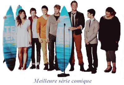TCA 2011 : résultats pour Glee :