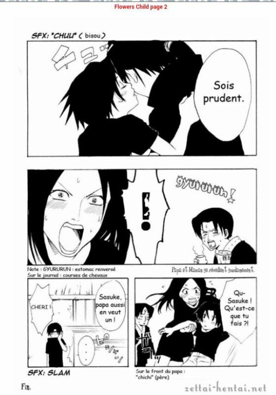 YAOI naruto itachi X sasuke