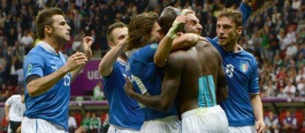 «super Mario» Balotelli envoie l'Italie en finale (2-1)