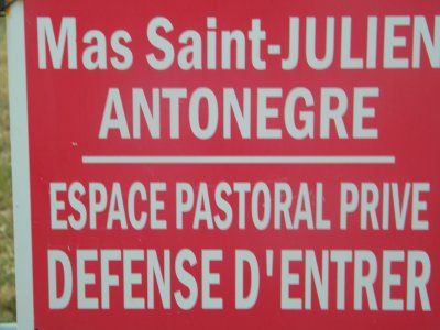 Mas Saint Julien / Antonaigre