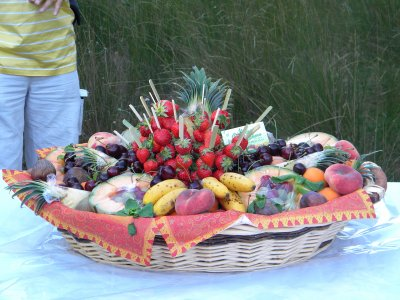 gateau de fruits du midi